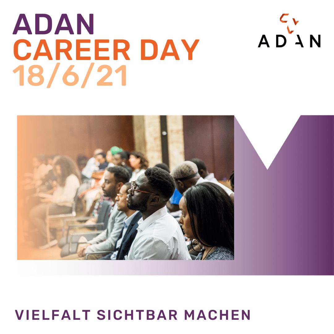 ADAN Career Day - Vielfalt sichtbar machen - Registriere Dich jetzt!